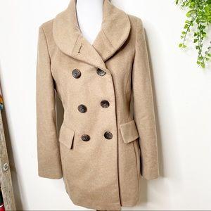 Calvin Klein wool blend coat 4